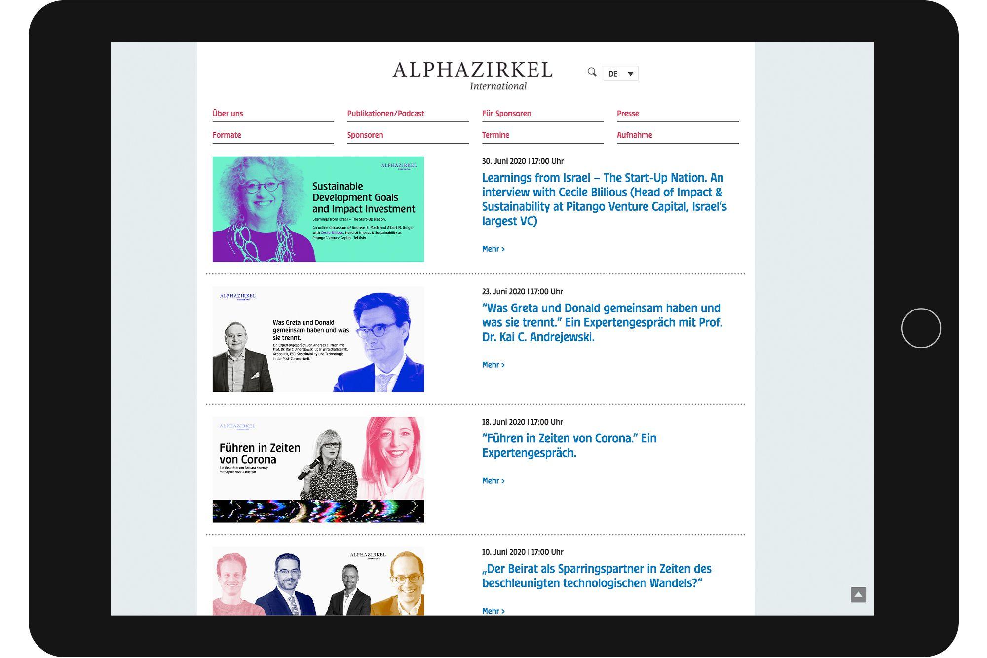 Az Website 02