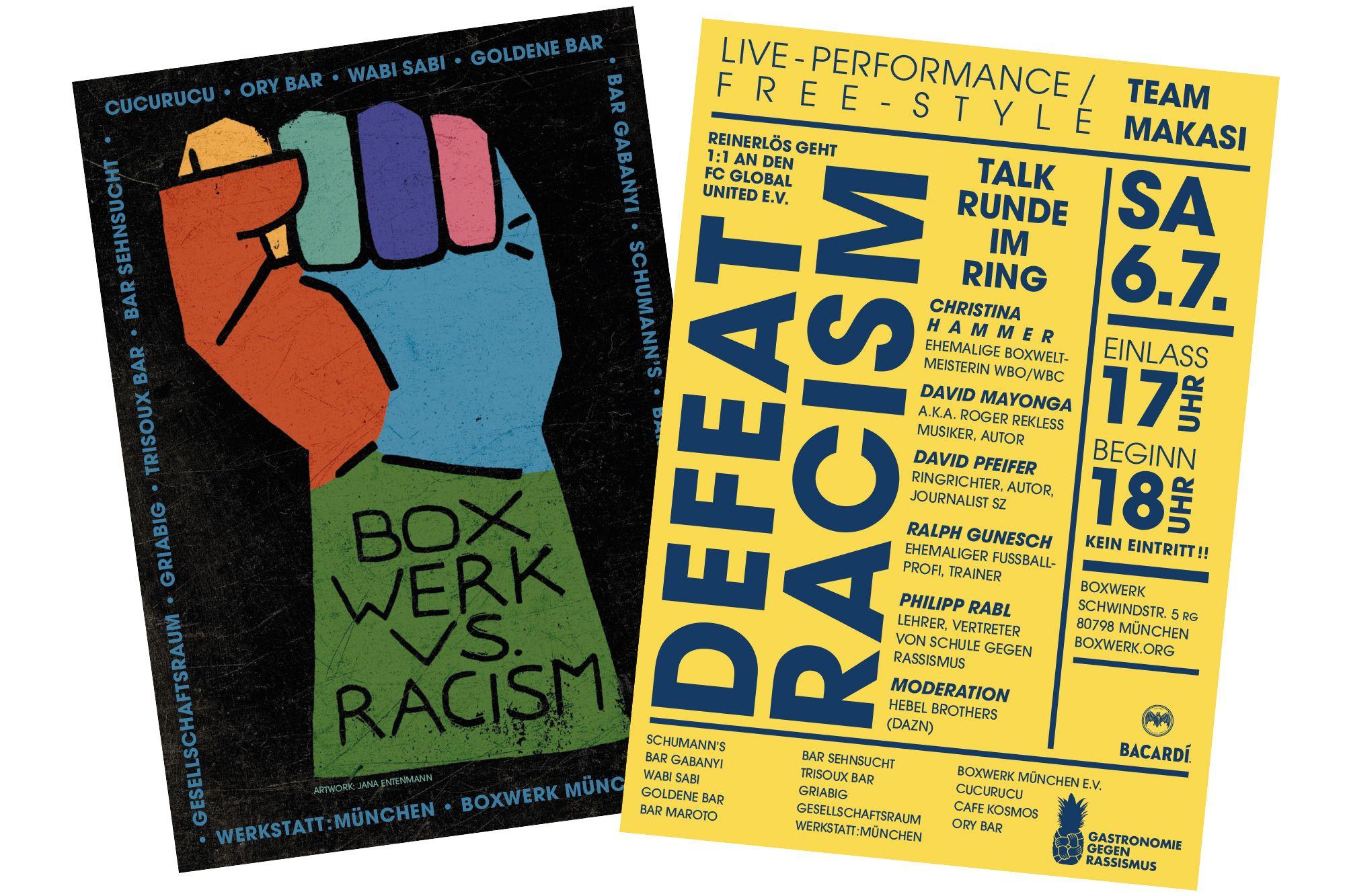 Bxw Vs Racism Postkarte